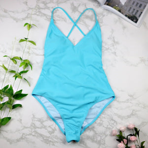 Swimwear Sexy high cut one piece swimsuit, Backless
