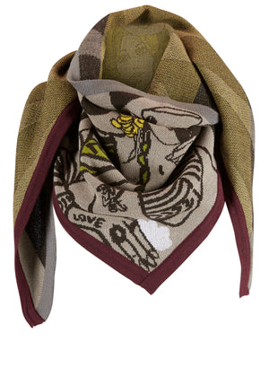 Lady Luck Triangle Scarf