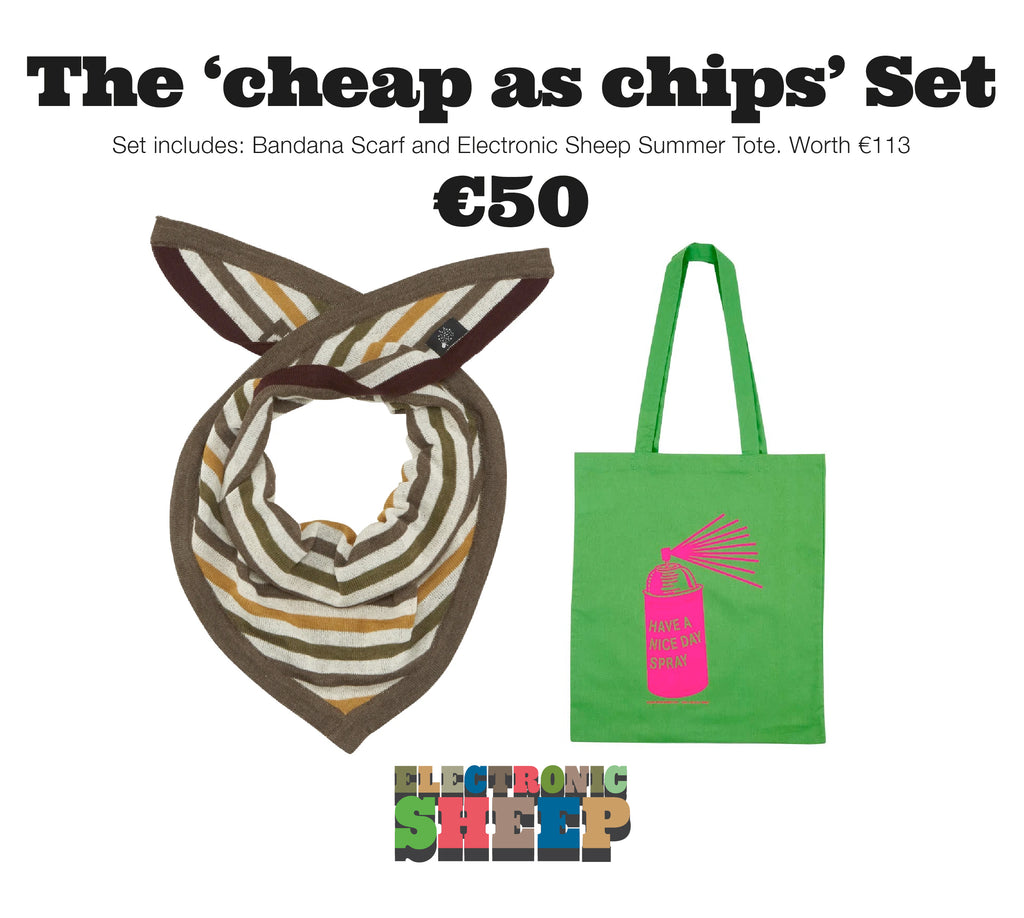 THE 'cheap as chips' GIFT SET