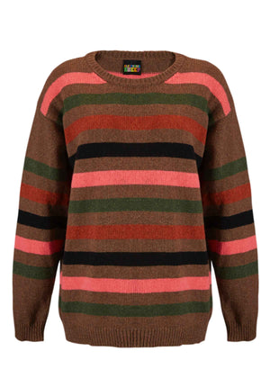 Arizona Trail Stripe Sweater - MADE IN DONEGAL, IRELAND