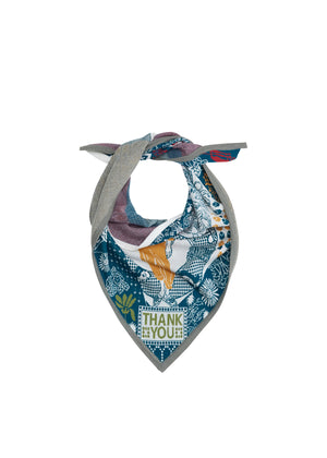 'Gratitude' Scarf – A COLLABORATION PIECE CREATED WITH ARTIST FIONA CRIBBEN