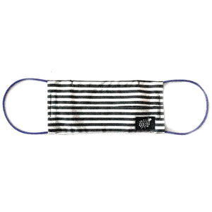 Men's 'Candy Stripe' Cotton Face Mask by Electronic Sheep