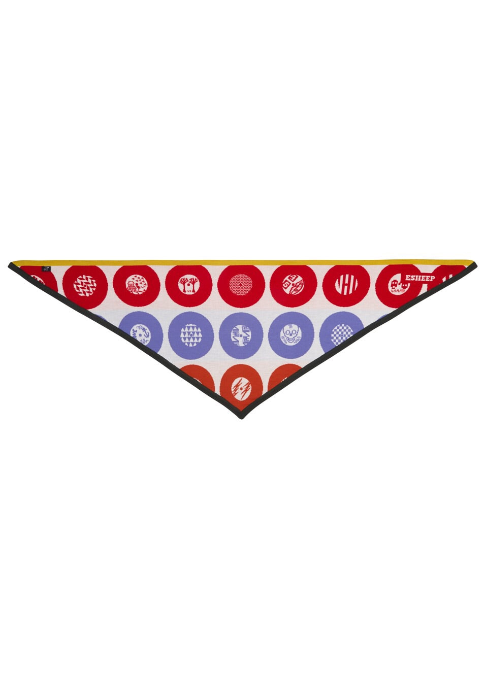 Record Collection Triangle Scarf