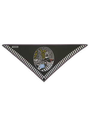 45 Revolutions Triangle Scarf {oversized}