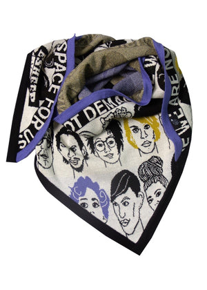 'Faces' Scarf