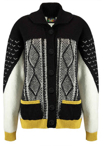 Android Cowboy Jacket Black/White/Yellow