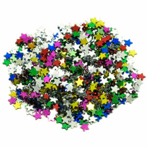 Star Sprinkles (50g) Assorted Colours