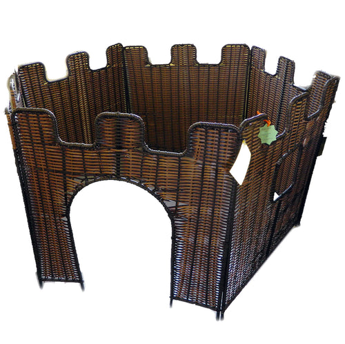 Plastic Wicker 6-SIded Castle (Factory Seconds)