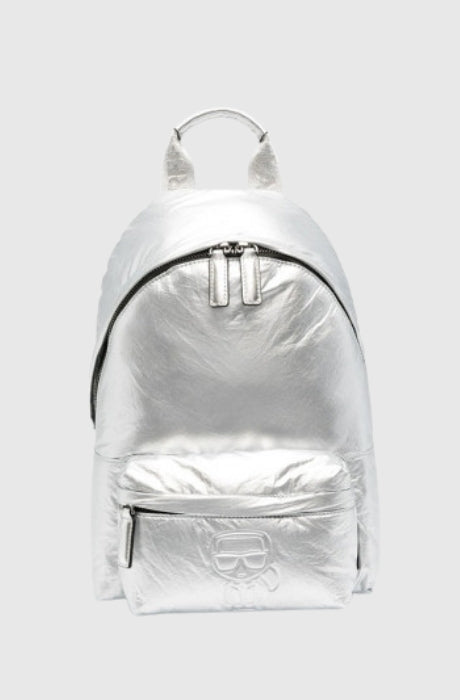 Women's K/Ikonik Nylon Metallic Backpack