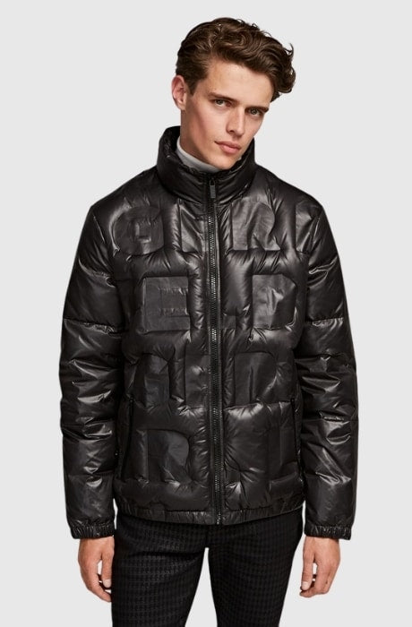 Men's Down Blouson Jacket