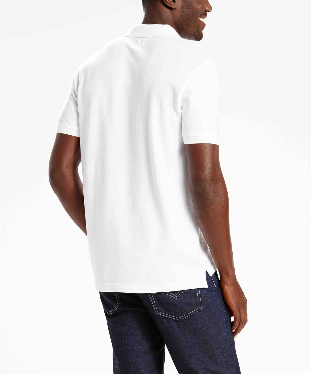 LEVIS HOUSEMARK POLO WHITE +
