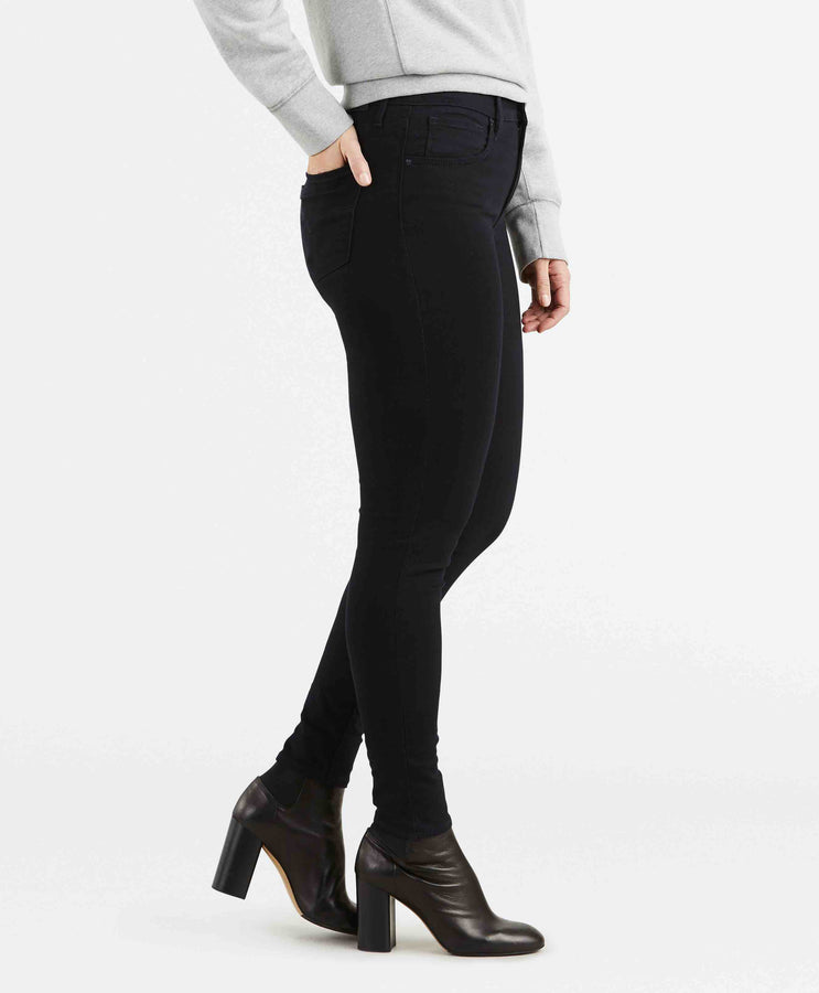 721 HIGH RISE SKINNY BLACK SHEEP
