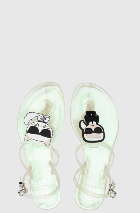 Women's JELLY Karl Ikonic Sling Sliders