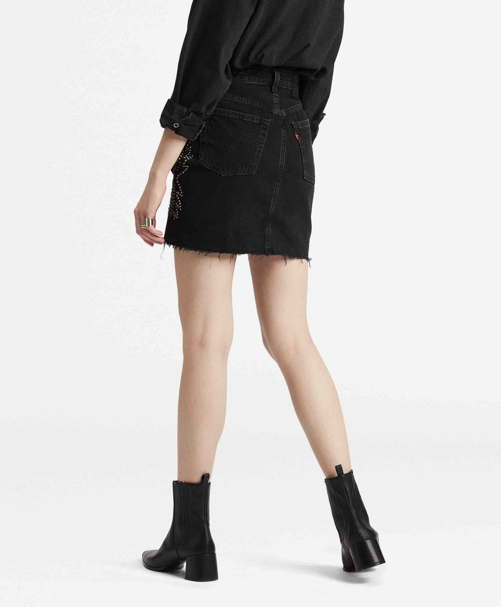 HR DECON ICONIC BF SKIRT FULL METAL