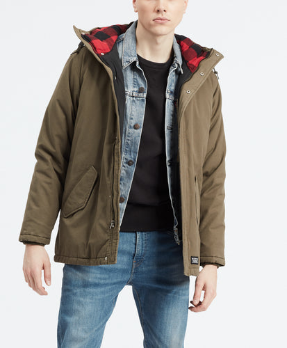 THERMORE PADDED PARKA OLIVE NIGHT 2