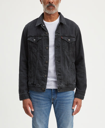 THE TRUCKER JACKET LIQUORICE TRUCKER