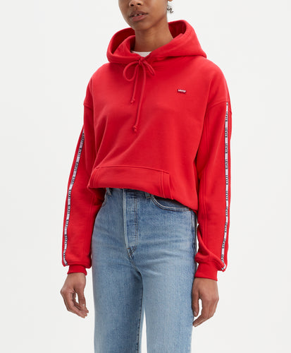 UNBASIC HOODIE BRILLIANT RED