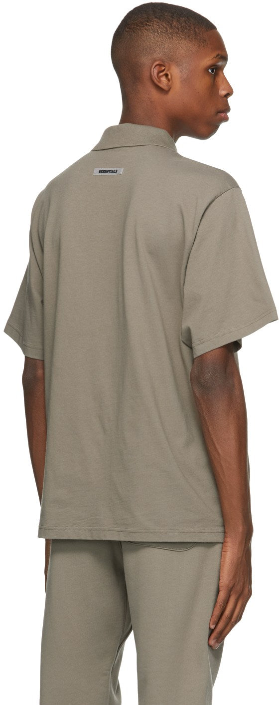 Taupe Short Sleeve Polo