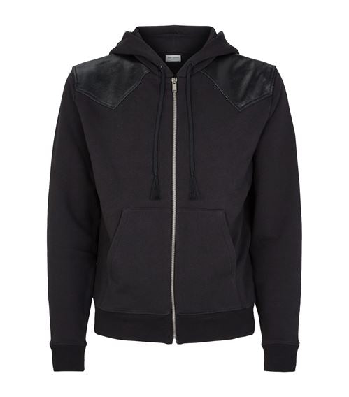 Saint Laurent Zip-Up Hoodie