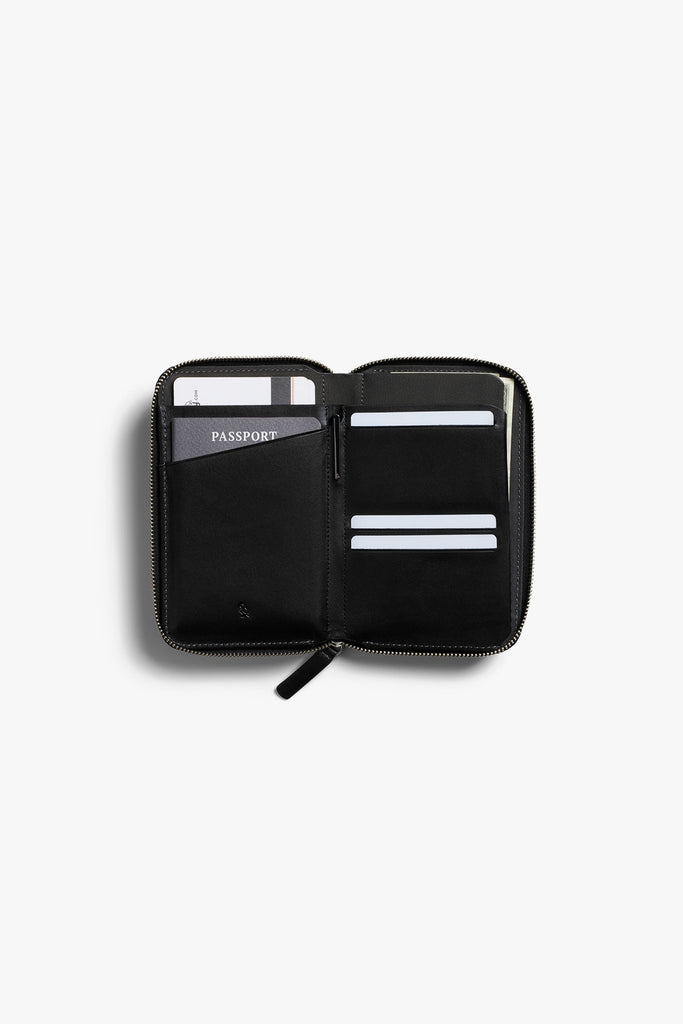 Travel Folio Wallet (Black)