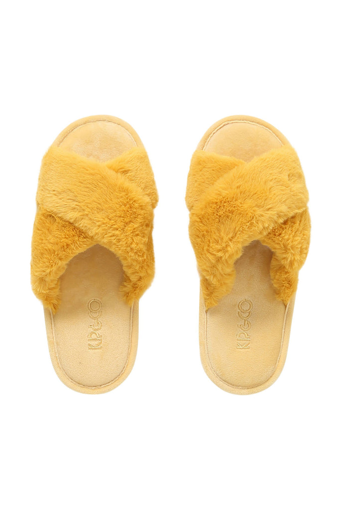 Womens Slippers (Sunshine Yellow)