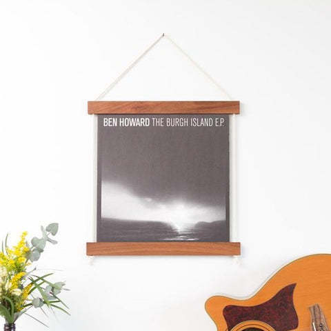 Record Jacket Frame (Brunette Hardwood)