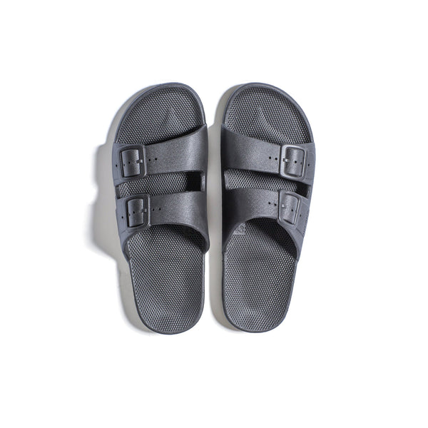 Stormy Grey Sandals
