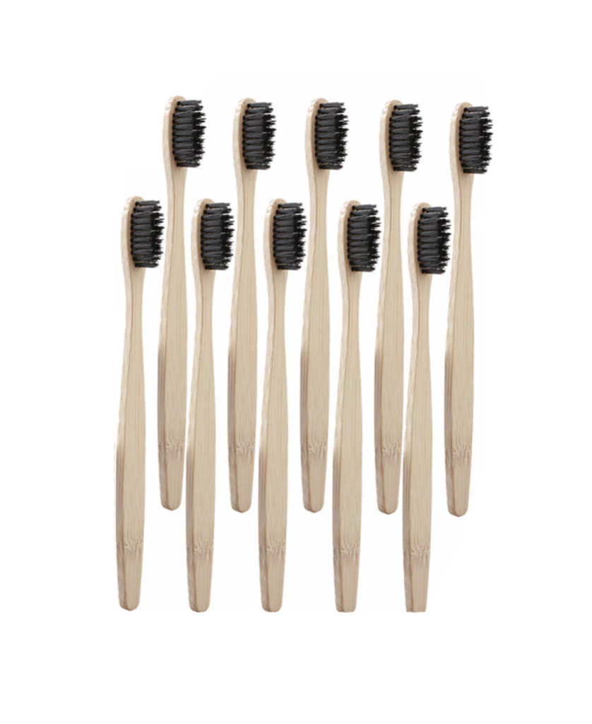 Bamboo Toothbrush (Black)