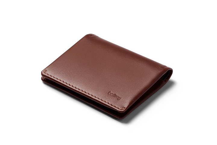 Slim Sleeve Cocoa Wallet