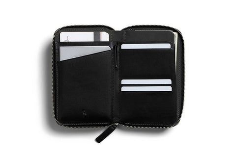 Travel Folio Black Wallet