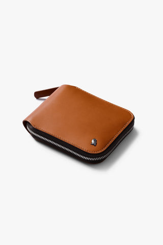 Zip Wallet (Caramel)