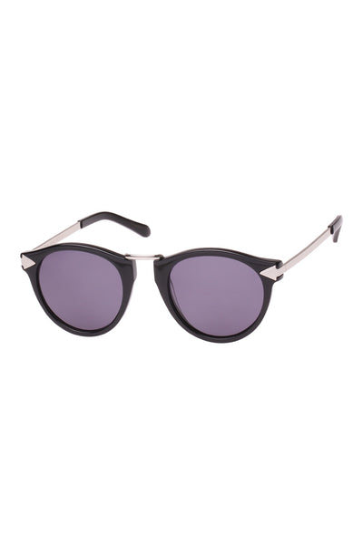 Helter Skelter Sunglasses (Black)