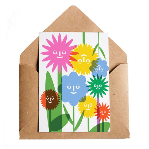The Flowers Greeting Card