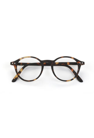 Shape #D Reading Glasses (Tortoise)