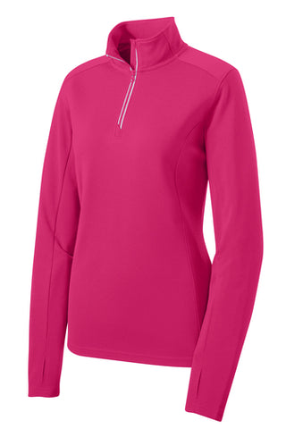 "AGW ""The Warm Up"" Mid-Weight 1/4 Zip Pullover Ladies"