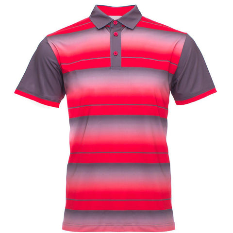 "AGW ""Rebel"" Red/Gray Polo"