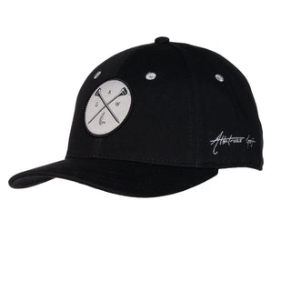 "AGW ""Cross Tees"" Black Cross Tees Patch - Cotton Twill Snapback"