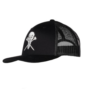 "AGW ""Open Seas Black"" TPU Snapback Trucker Hat"