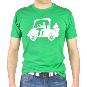 "AGW ""Cruisin' with JD"" Green Tee Shirt"