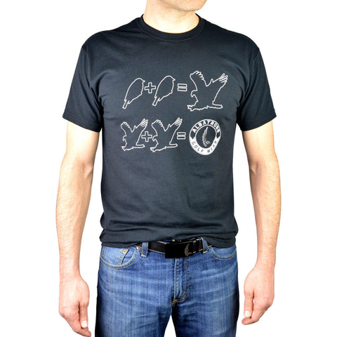 "AGW ""Simple Math"" Black Tee Shirt"