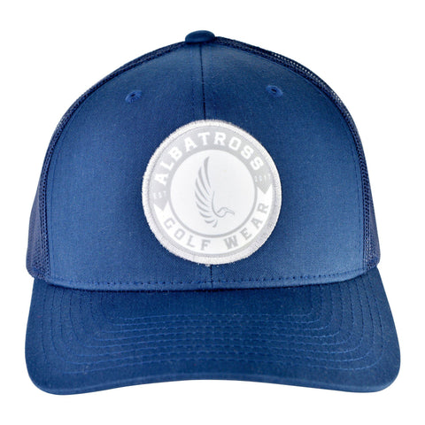 "AGW ""Ground Control"" Blue Mesh Snapback Hat"