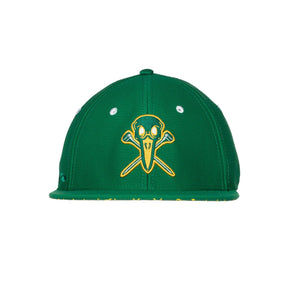 "AGW ""Tradition"" Limited Edition Green Stretch Fit Masters Hat"