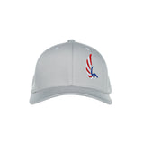 "AGW ""Birds of Merica"" Silver Embroidered Fitted Hat"