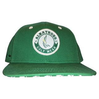 "AGW ""Grounds Crew"" Limited Edition Green Masters Snapback Hat"