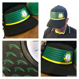 "AGW ""Fairways"" Limited Edition Black Masters Snapback Hat"