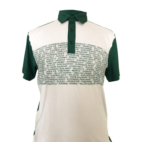 "AGW ""Ninety Percent Air"" Limited Edition Masters White/Green Polo"