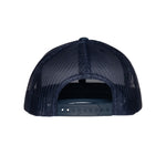 "AGW ""Chillin with JD White "" Blue TPU Snapback Trucker Hat"