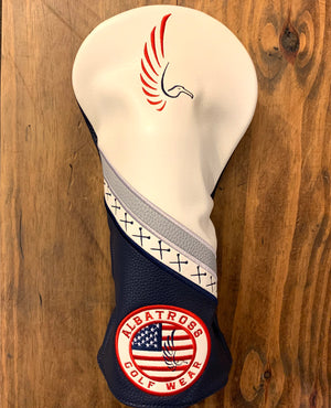 "AGW ""Red, White & Blue"" Limited Edition Driver Cover"