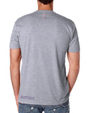 "AGW ""The Parade"" Gray Tee Shirt"