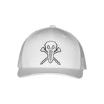 "AGW ""Open Seas White"" TPU Snapback Trucker Hat"
